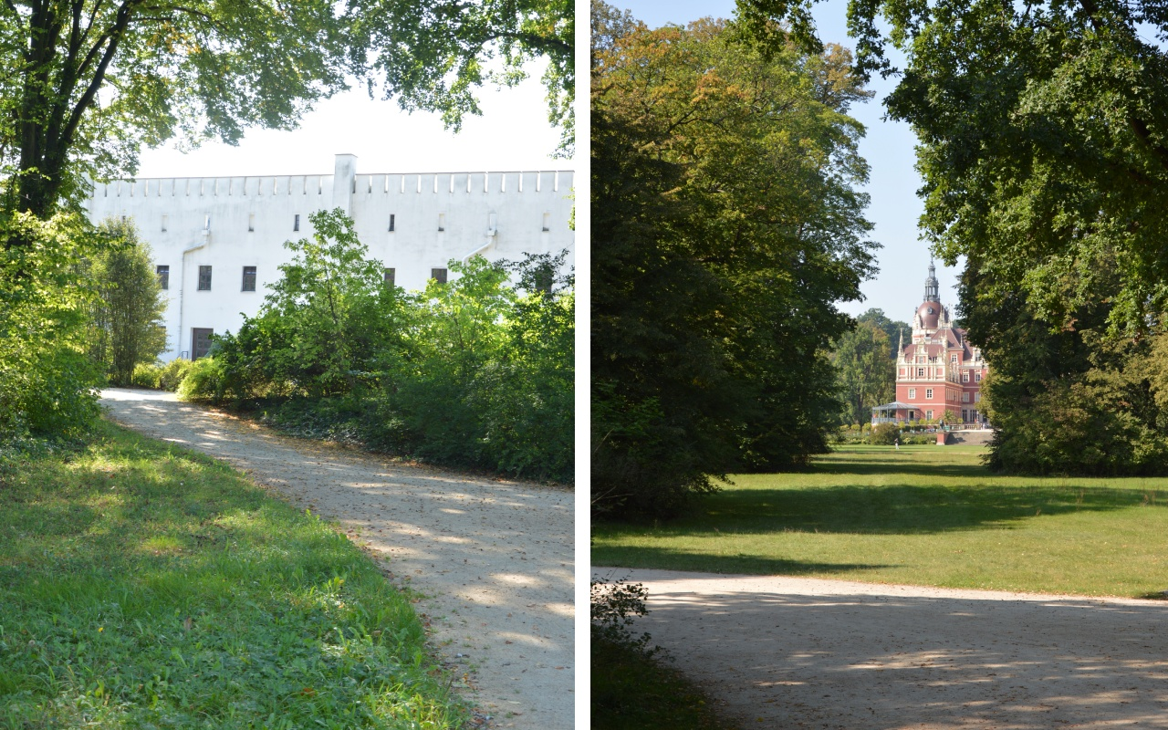 Park księcia Pücklera wMużakowie