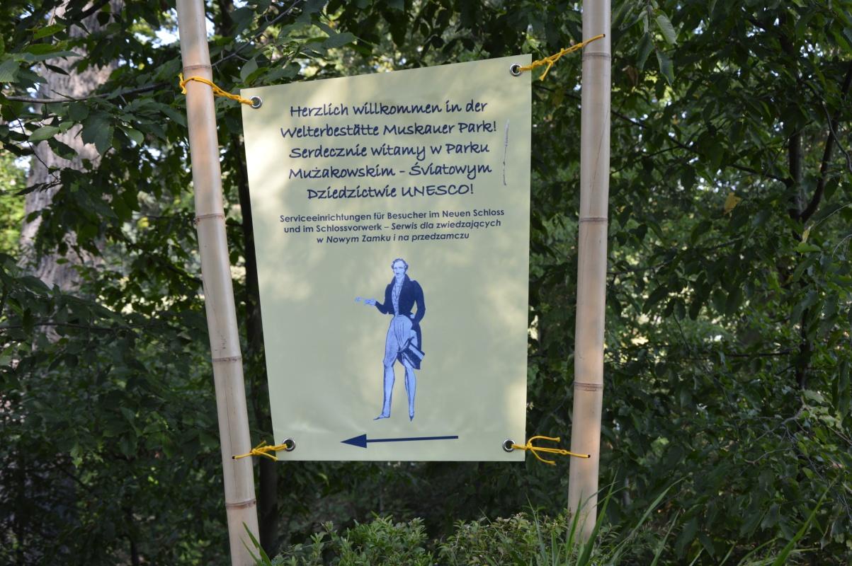 Park Mużakowski nadNysą Łużycką