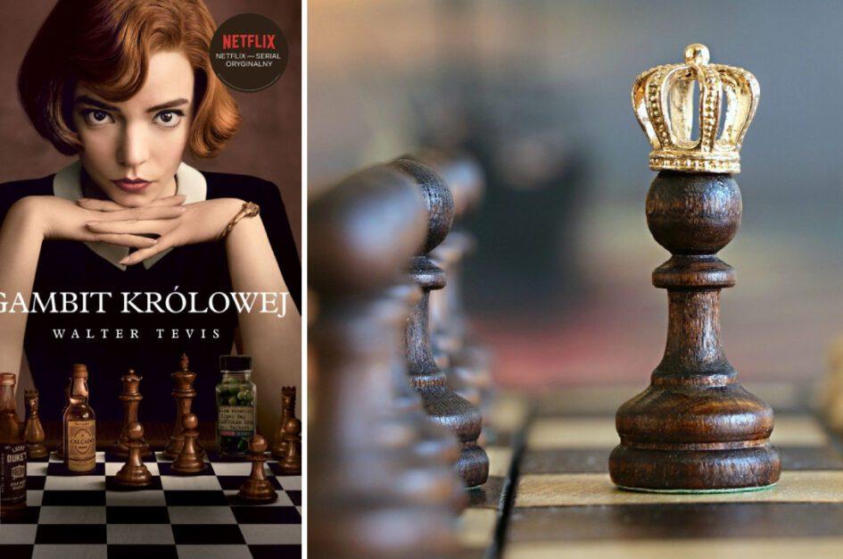 """Recenzja: """"Gambit królowej"""" (książka i serial)"""
