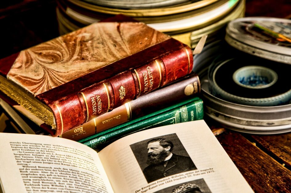 Filmy o książkach, pisarzach i bibliofilach