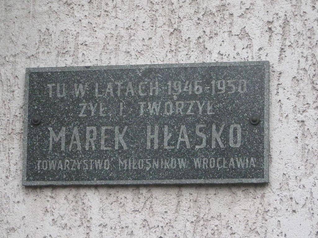 Marek Hłasko biografia