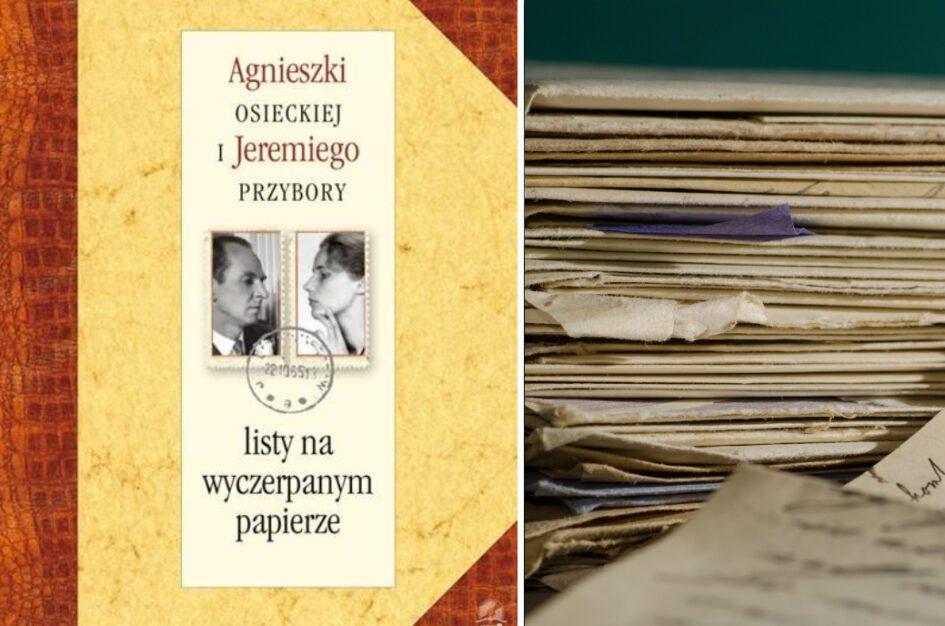Agnieszki Osieckiej i Jeremiego Przybory listy na wyczerpanym papierze