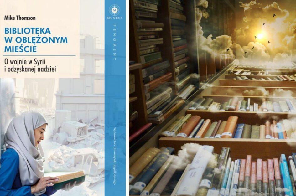 """Recenzja: """"Biblioteka w oblężonym mieście"""" M. Thomson"""