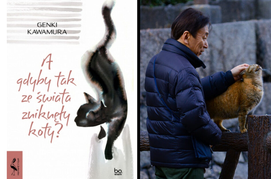 """Recenzja: """"A gdyby tak ze świata zniknęły koty?"""" G. Kawamura"""