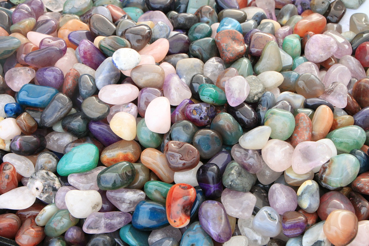 Kamienie naturalne magia