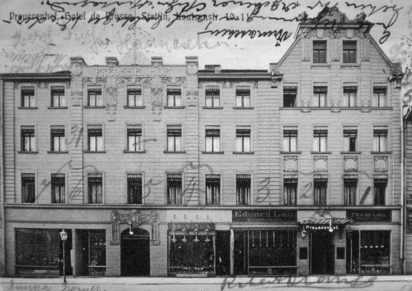 Hotel Preussenhof, Szczecin