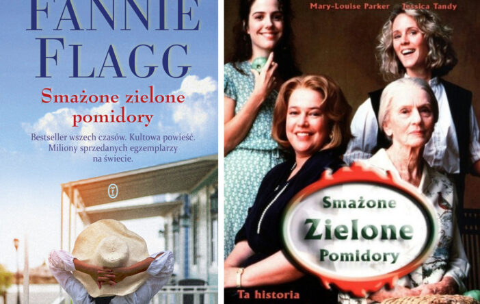 """""""Smażone zielone pomidory"""" (Fried Green Tomatoes at the Whistle Stop Cafe) Fannie Flagg"""